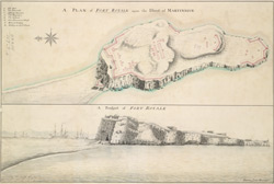 A Prospect of Fort Royale upon the Island of Martinique